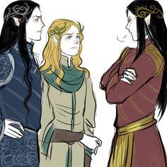 Feanor, Finanrfin, Fingolfin