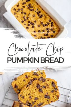 Head to the kitchen and whip up this tender and delicious, fall favourite Chocolate Chip Pumpkin Bread. It's great as muffins or mini loaves too! #PumpkinBread #PumpkinRecipes #FallRecipes #PumpkinSpice via @xtremecouponmom Pumpkin Chocolate Chip Bread, Pumpkin Bread, Pumpkin Pie Spice, Fall Recipes, Great Recipes, Favorite Recipes, Top Recipes, Good Food, Yummy Food