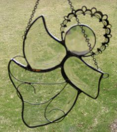 Stained Glass Angel - Beveled Glass - Cynthia