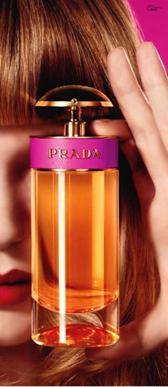 Prada Candy / Oriental vanilla / 2011 / Daniela (Roche) Andrier / Top note is Caramel; middle notes: Powdery notes and Musk; base notes: Vanilla and Benzoin.