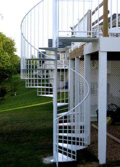 External Spiral Staircase #Spiral #Staircase | Stair case ...
