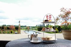 Take your Afternoon Tea outside, when the sun's out the terrace is the perfect place to relax and while away the afternoon.