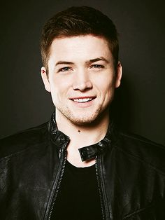 Taron Egerton look how green his eyes are!!! <3