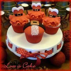 Cupcakes de Noël / Christmas cupcakes