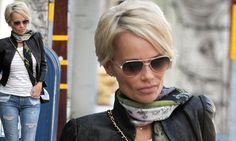 Kristin Chenoweth gets a pixie cut inspired by Charlize Theron
