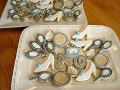 Cinderella sugar cookies.