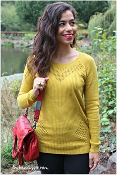 I am a fan of mustard and always have been even before it was trendy.;-) I like the style of this sweater as well.