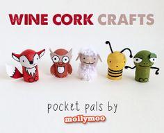 Wine Cork Pocket Pals