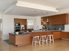 Mirabelle Garage - modern - kitchen - san francisco - Ken Gutmaker Architectural Photography