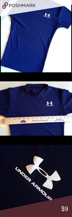 "Under armor Small Athletic shirt S 14"" armpit to armpit for 28"" chest Under Armour Tops Tees - Short Sleeve"
