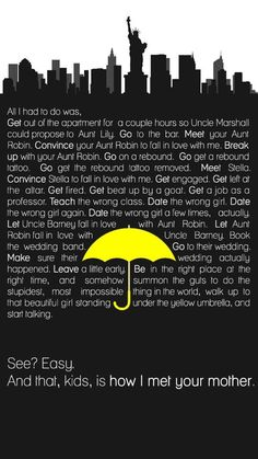 HIMYM Alternate Ending. How I Met Your Mother #himym