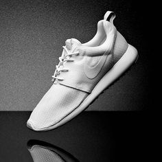 premium selection 57249 8520a Freshen up your sneaks collection with the Nike Roshe Run Trainer in white.  Mens Trainers