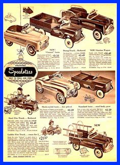 1952 PEDAL POWER, Sears -- I had one of these too.  :)