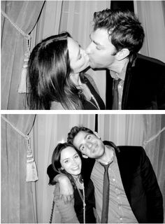 John Krasinski and Emily Blunt photographed by Terry Richardson, 2010