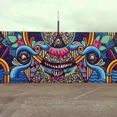 Taupo street art graffiti