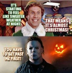 Laugh your way to Taco Tuesday tonight with these funny AF memes Halloween Quotes, Halloween Movies, Halloween Horror, Scary Movies, Horror Movies, Halloween Fun, Sweater Weather Meaning, Fall Humor, Halloween Bedroom