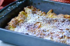 Warm Vanilla Sugar | German Pancakes with Apples