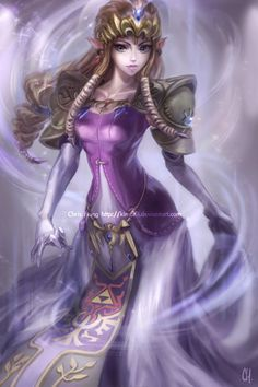 Princess Zelda - Twilight Princess by *kimchii