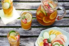 Pimm's Royale Punch