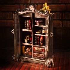 Magnificent Monstrous Dollhouse Miniature by PetiteUniques on Etsy