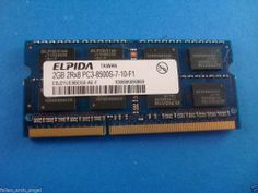 Elpida 2GB PC3-8500S DDR3-1066MHz