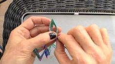 Contemporary Geometric Beadwork Kate McKinnon - YouTube