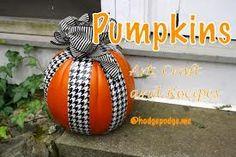 Cute duct tape pumpkin