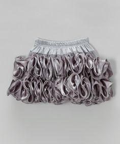 Gray Ruffle Skirt - Infant, Toddler & Girls #zulily #zulilyfinds