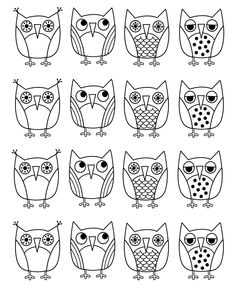 Owl Coloring Page | Free printable, Owl and Parents