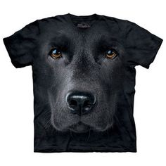Black Lab Face T-Shirt XXL, $18, now featured on Fab.