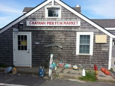 Great fish and chips with a side of chowder