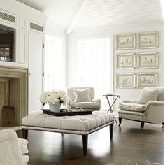 South Shore Decorating Blog: 75 White Rooms I'm Loving Today