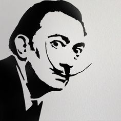 Salvador Dali stencil Home decor stencil art by IdealStencils