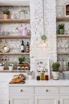 12 exposed brick walls ideas we LOVE! | http://domino.com