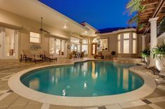 A desired accessory to a home anywhere in the world is a pool. Here are two luxury homes in Florida that have unique style pools on their grounds. Residents live the ultimate Florida lifestyle with locations in Apollo Beach and Palm Beach Gardens Flo...