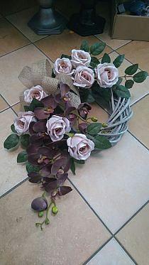 Grave Decorations, Funeral, Hanukkah, Flower Arrangements, Succulents, Floral Wreath, Wreaths, Flowers, Plants
