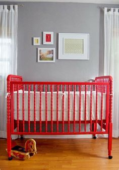 Jenny Lind crib - paint whatever colour in your imagination