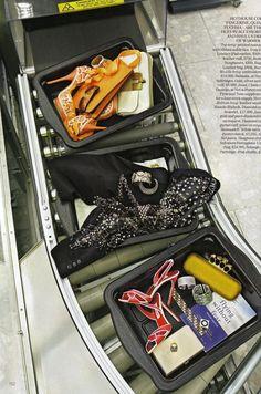 fakingfashion: Vogue UK February 2011   In Transit