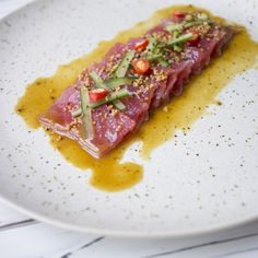 This SPECIAL: Nikkei Tuna Ceviche Cravings Journal is a best for our Breakfast made with awesome ingredients! Raw Fish Recipes, Tuna Recipes, Seafood Recipes, Asian Recipes, Appetizer Recipes, Cooking Recipes, Healthy Recipes, Freezer Recipes, Freezer Cooking