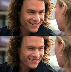 "heath ledger. ""but i'm sure you've thought about me naked"" @Abigail Suzanne"