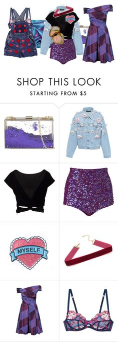 """""""Untitled #3905"""" by aurorazoejadefleurbiancasarah ❤ liked on Polyvore featuring Skinnydip, Anouki, Vivienne Westwood Anglomania and L'Agent By Agent Provocateur"""