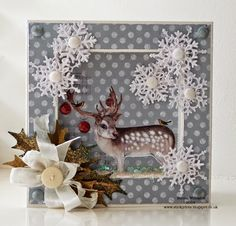 Craftwork Cards Blog: The Magic Of Christmas by Emma Williams      nice inside too