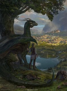 ArtStation - The Awakening _book cover, Randy Vargas (vargasni)