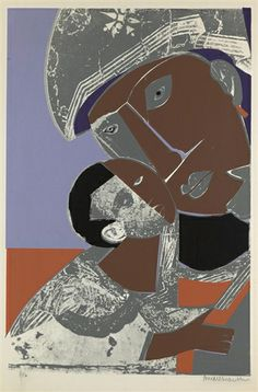 Romare Bearden, Mother and Child