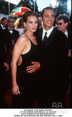 :) Benjamin Bratt, Famous Couples, Julia Roberts, Pretty Woman, Dress Up, Cinema, Hollywood, Concert, Celebrities