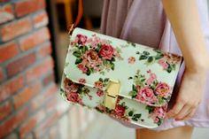 Floral purse ツ