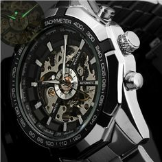 Winner Brand Luxury Sport Watch Mens Automatic Skeleton Mechanical Wristwatches Fashion Casual Stainless Steel Relogio… Discount Price: $22.99 + Free shipping Sale#'s up to 50% at our store Visit Now!!! #watches #womenwatches #bracelet #braceletwatches #giveaway #free #freeitems #fashionwatches #fashion #menfashion #womenfashion #girlsfashion #trend2016 #trend