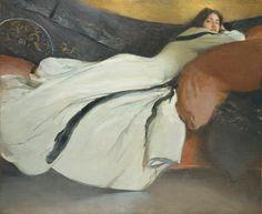 John White Alexander ~ Repose 1895
