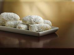 LEMON WEDDING COOKIES - gluten free