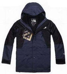 Outlet North Face Mens Gore Tex Xcr Jacket Dark Blue Black